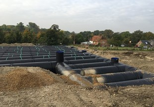 Large-scale stormwater solution brings added benefits to housebuilder