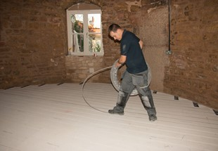 Why underfloor heating systems make good sense in an energy-aware climate