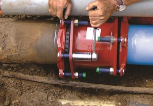 Joining of polyethylene pressure pipes for below ground water applications